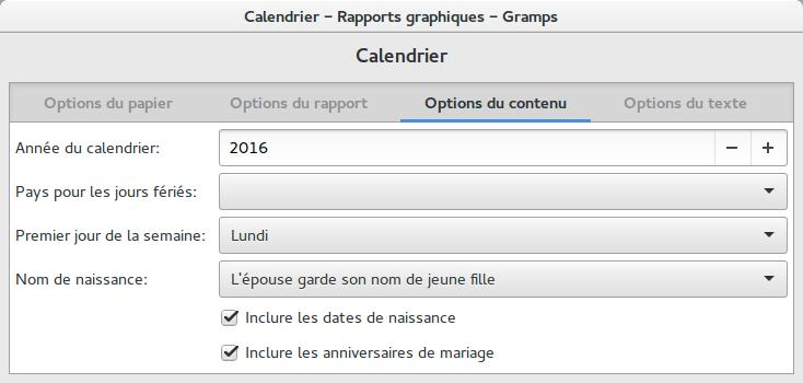 Bevorzugt Fr:Manuel wiki pour Gramps 4.2 - Rapports - Gramps LP32